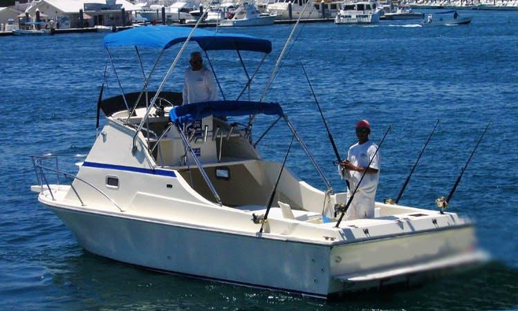 "26ft ""Doña Pas"" Fishing Charter in Cabo San Lucas, Mexico"