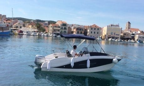 Rent 18' Okiboats 357 Center Console in Krk, Croatia