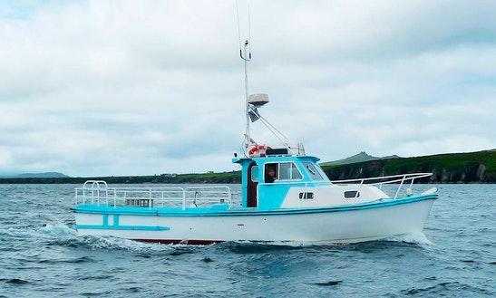 Enjoy Fishing In County Kerry, Ireland On 36' North Star Cuddy Cabin