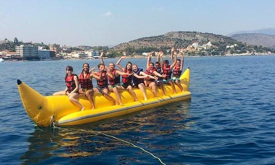 Enjoy Tubing In Tolo, Greece