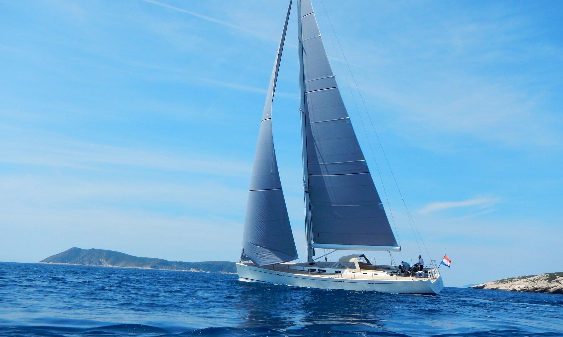 Charter a  65' Eline Cruising Monohull in Krk, Croatia