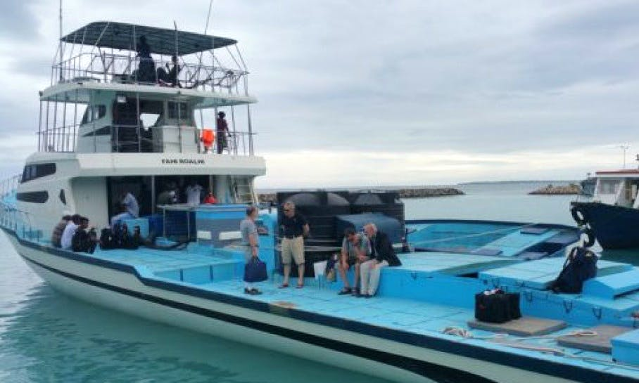 Go Fishing on a Trawler and Explore the Waters of Addu City, Maldives