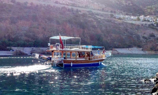 Captain Boat Tours From Antalya, Turkey