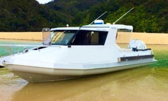27' Motor Yacht Charter In Nelson, New Zealand
