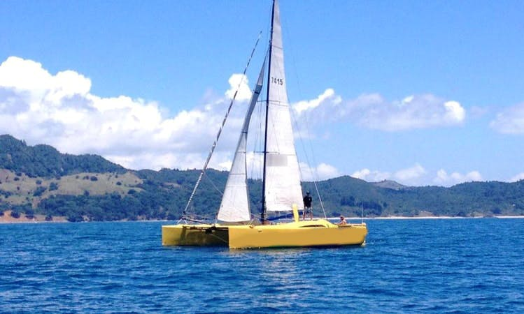 Cruising in Whitianga, New Zealand