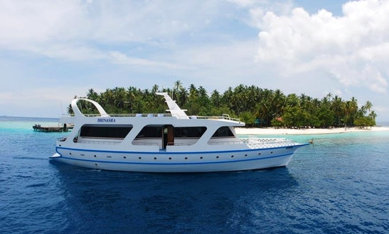 Charter A Mega Motor Yacht In Male, Maldives