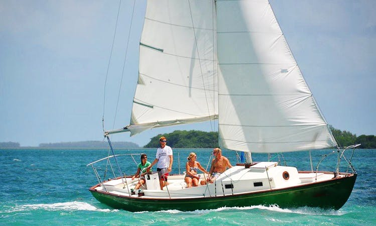 Captained Charter On 33ft The Key West's Most Versatile Sailboat! (With Captain Only)