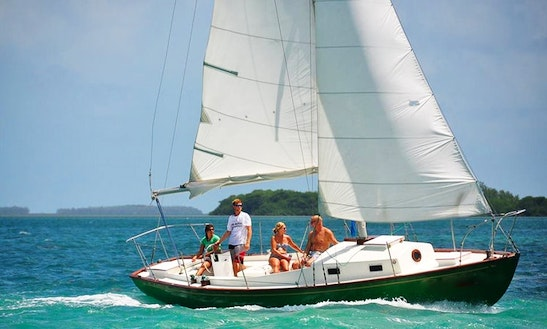 Captained Charter On 33ft The Key West's Most Versatile Sailboat!