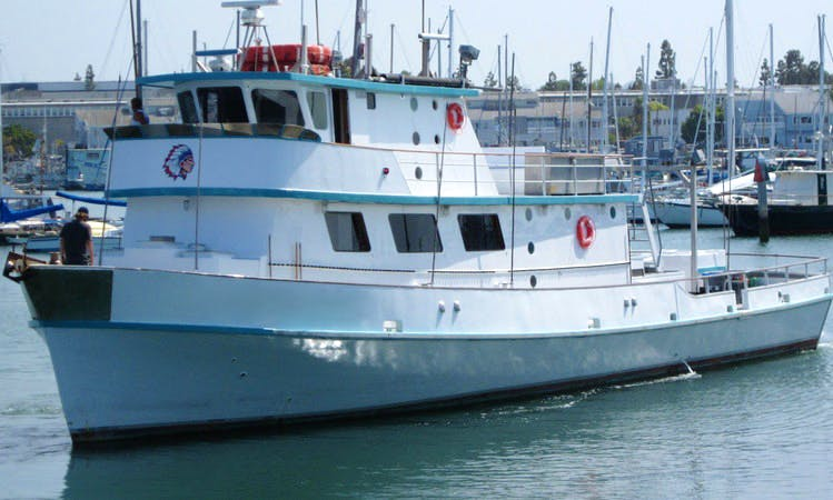 Enjoy the 85ft Fishing Charter in San Diego, California