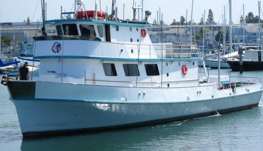 Enjoy The 85ft Fishing Charter In San Diego, California