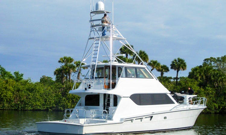 Take a Charter on our Hatteras 70 From Cabo San Lucas