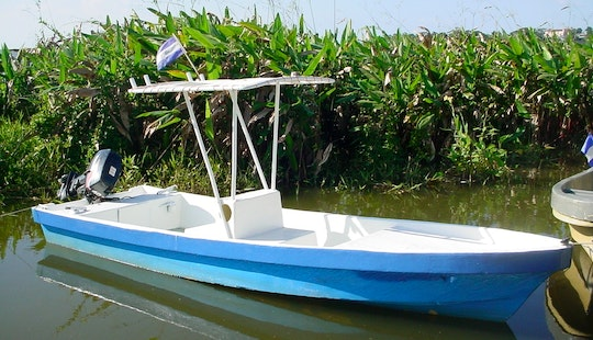 Fishing Trip In San Carlos, Nicaragua On Blue Center Console