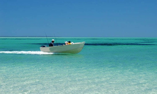 Boat Hire At Mount Dutton Bay Close To Coffin Bay