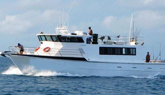 Coral Sea 60' Head Boat Fishing Charter