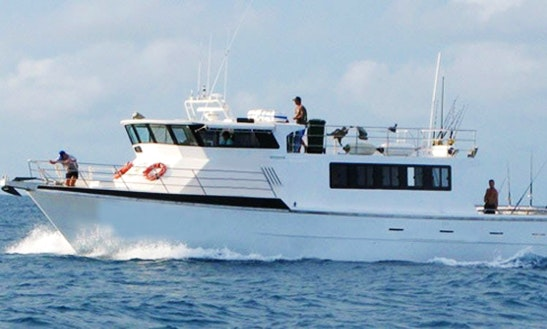 Coral Sea 60' Head Boat Fishing Charter
