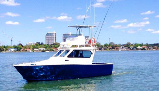 34' Flybridge Yacht Sport Fishing Charter In Sydney