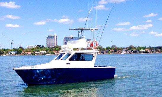 34' Flybridge Yacht Sport Fishing Charter In Sydney