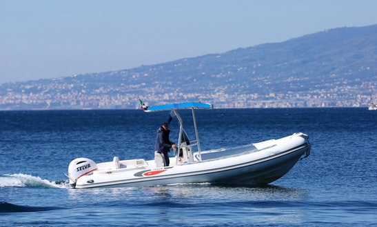 Rubber Dinghy Selva D.680 In Sorrento, Italy