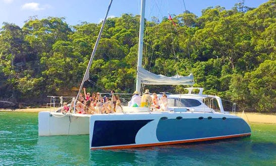 Party Harbour Cruises On 40ft Catamaran