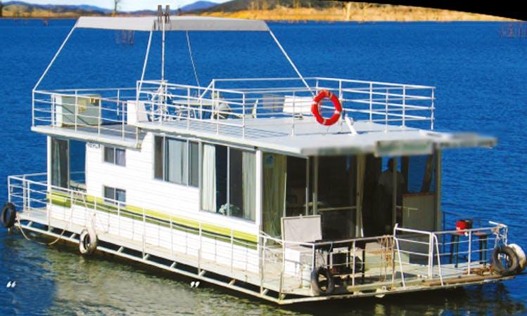 "Captained Hire Luxury Houseboat ""Eildon Princess"" in Eildon, Victoria, Australia"