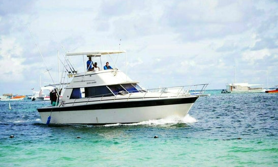 Sport Fisherman Sleep Aboard Rental In Punta Cana