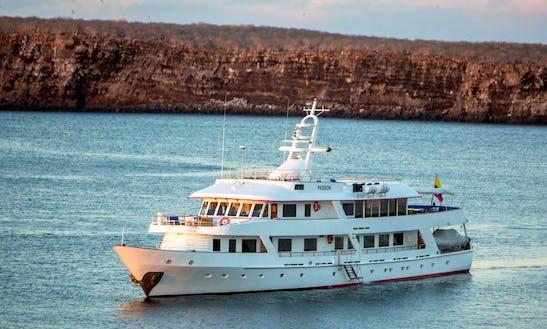 Power Mega Yacht In Galapagos Islands