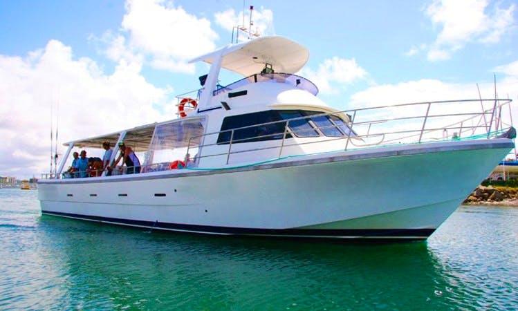 Enjoy Fishing in Mooloolaba, Australia on Head Boat