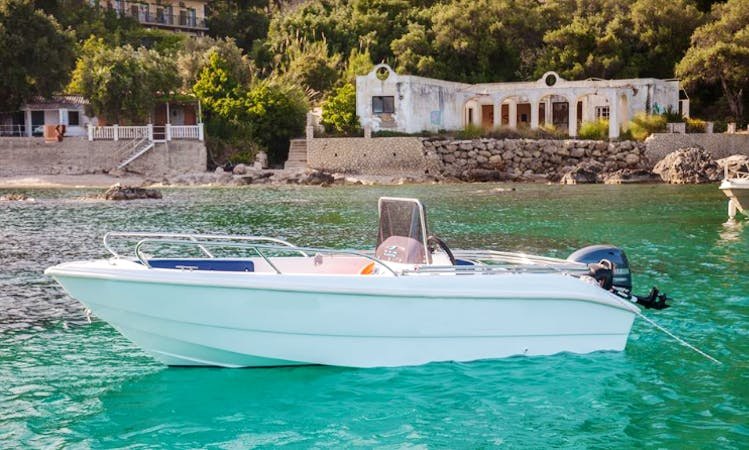 Rent DIAS boat  in Paleokastritsa, Greece