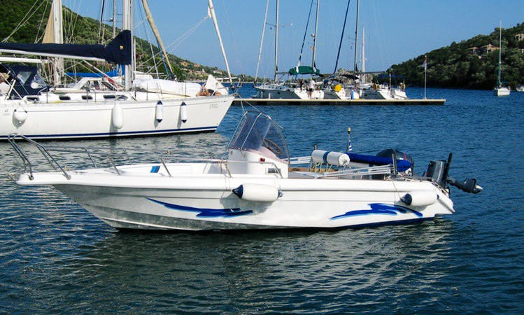 Speedboat Rental At Lefkada, Greece
