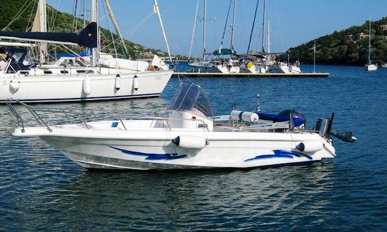 Speedboat Rental At Lefkada, Greece
