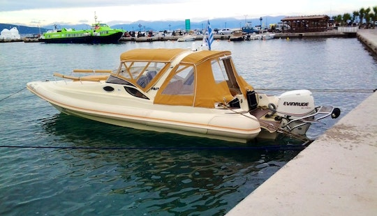 Fost Dream 28 Covered Boat In Lagonisi