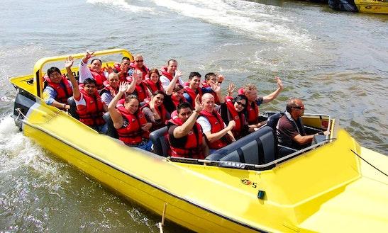 Boat Tours In Rotorua, New Zealand