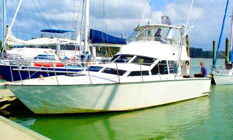 Haruru Fishing Charter with Captain Ross