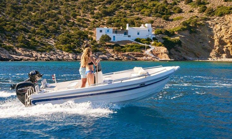 Rent 15' A La Mer 1 Boat in Platis Gialos, Greece