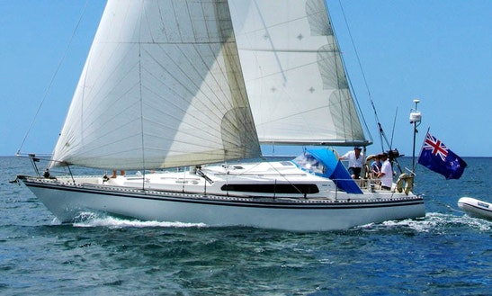 Charter 39' Cruising Monohull In Russell, New Zealand