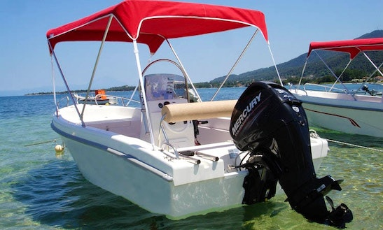 20' Open Alexander Powerboat In Chalkidiki