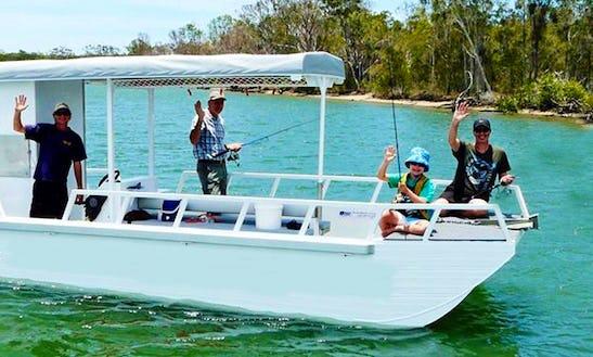 Guiding Fishing Charter In Noosaville, Australia