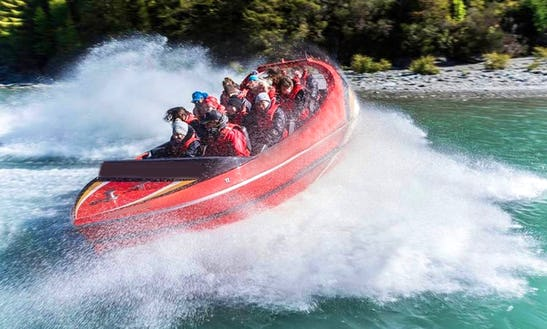 Enjoy Jet Boat Tour In Arthurs Point, New Zealand