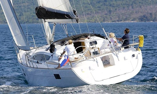 'karlo' Elan 444 Sailing Monohull Charter In Trogir