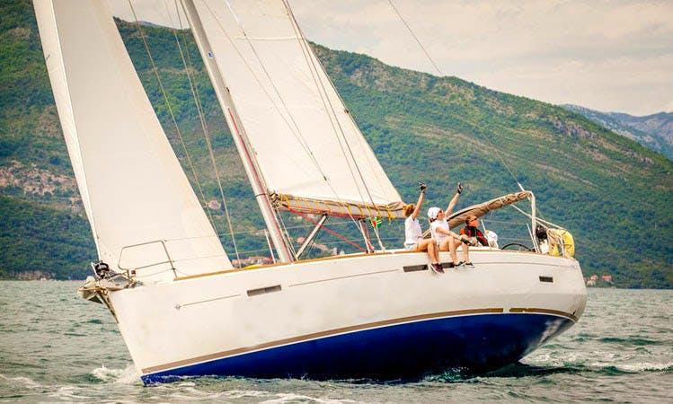 Charter 44' Jeanneau Sun Odyssey Cruising Monohull in Tivat, Montenegro