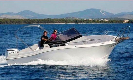Atlantic Sun Cruiser 730 Deck Boat Charter In Croatia