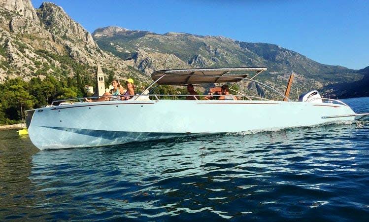 Deck Boat rental in Kotor