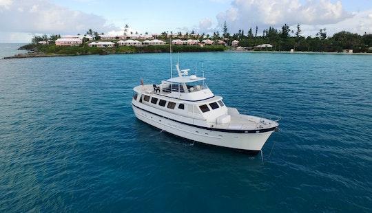 Mv Aurelia Motor Yacht For Charter In Sandys, Bermuda