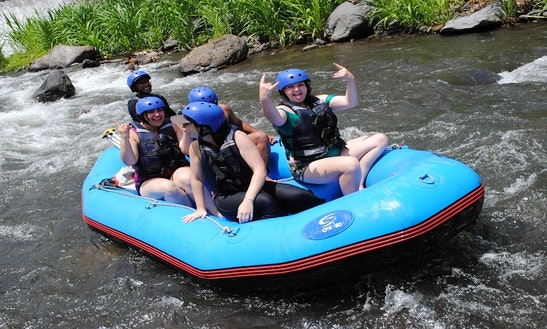 Enjoy An Exciting Rafting Ride In Rendang, Bali
