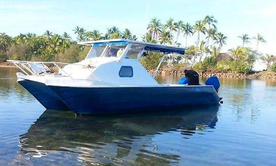 'zaim' Head Boat Fishing Trips In Sigatoka, Fiji