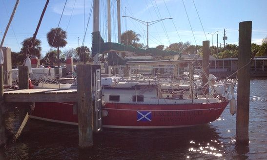 Cruising Monohull Sleep Aboard Rental In Titusville