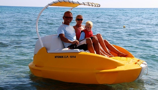 Rent 8' Yelo Boat In Rodos, Greece