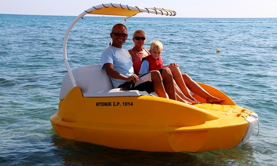 Rent 8' Yelo Boat In Rodos, Greece