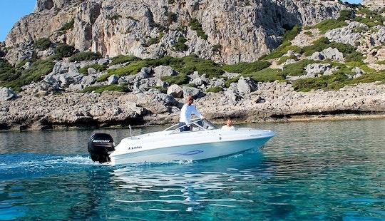 Rent 18' A Hellas 18 Br Bowrider In Rodos, Greece