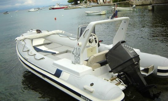 Rent 20' Novomar Rigid Inflatable Boat In Omiš, Croatia